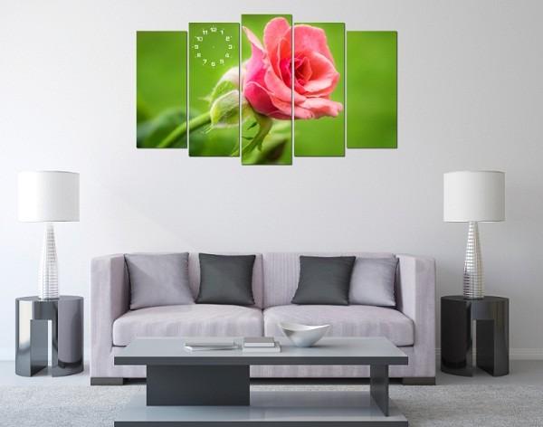 Tranh hoa hồng ghép bộ cho phòng khách lãng mạn-02
