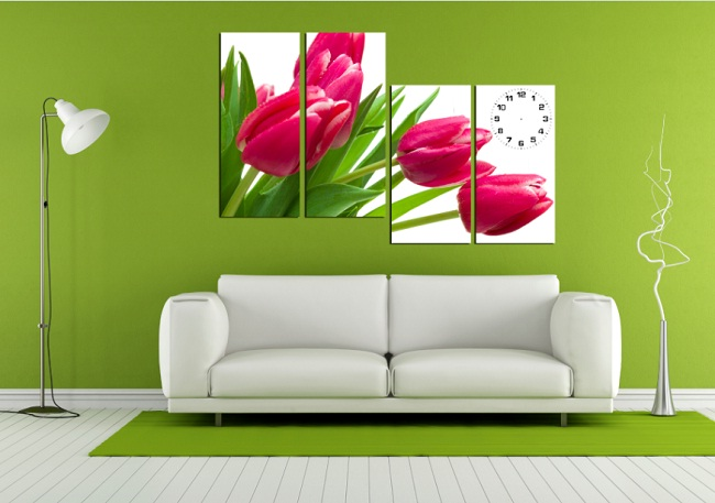tranh-ghep-bo-treo-phong-khach-dep-va-sang-trong-hoa-tulip