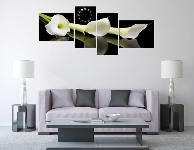 Mẫu tranh đẹp treo trang trí phòng khách