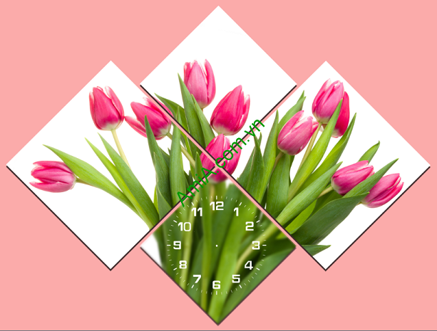 tranh-hoa-tulip-ghep-doi-xung-nghe-thuat-treo-phong-khach-dep