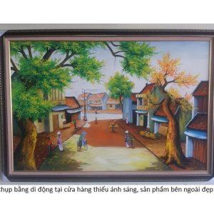 tranh-son-dau-pho-co-treo-phong-khach-dep-sang-trong-amia105