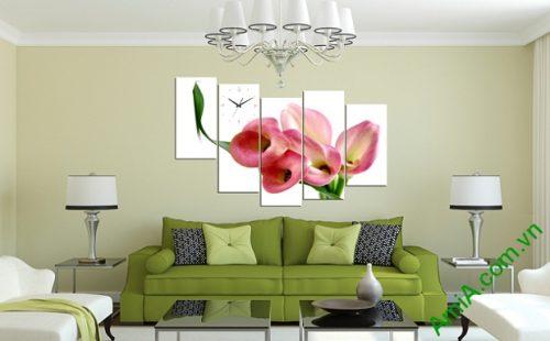 Tranh treo tường phòng khách Hoa Zum1 Amia 244