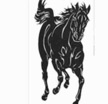 Tranh treo tường phòng khách hợp tuổi ngựa