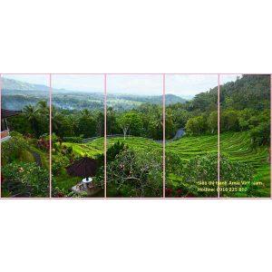 Tranh phong cảnh phòng khách thiên nhiên Việt Nam