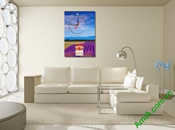 Tranh Lịch Tết treo phòng khách LICHGD09 đem đến vẻ đẹp hiện đại