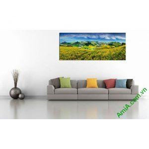 Tranh phong cảnh treo phòng khách đẹp Amia 359-00