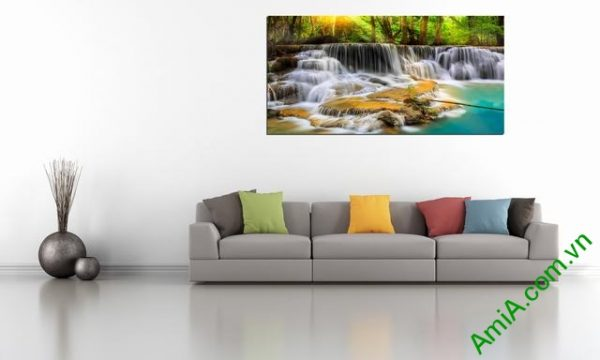 Tranh phong cảnh treo phòng khách Amia 363-01