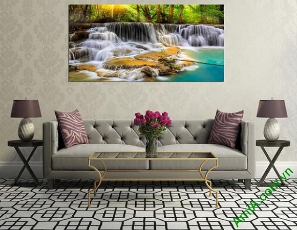 Tranh phong cảnh treo phòng khách Amia 363-02