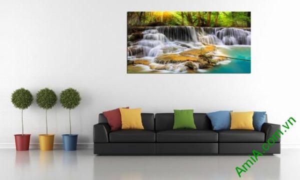 Tranh phong cảnh treo phòng khách Amia 363-03