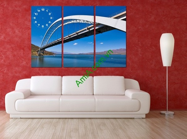 Tranh phong cảnh trang trí phòng khách Amia 163-01