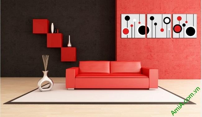 Hình ảnh tranh trang trí Vector nghệ thuật cho phòng khách