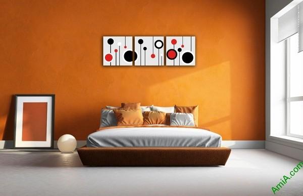 Tranh trang trí Vector nghệ thuật cho phòng khách Amia 415-03