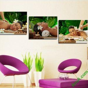 Tranh trang trí không gian spa, massage Amia 400-00