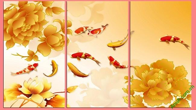 Kết quả hình ảnh cho tranh cá amia hợp tuổi Mùi