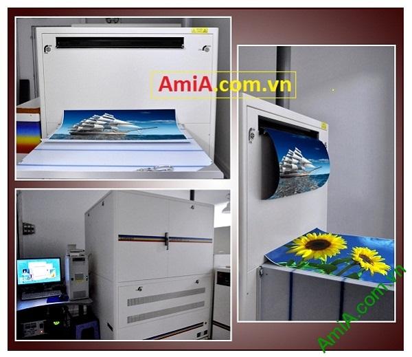 Máy in ảnh Labs tại Siêu thị tranh Amia