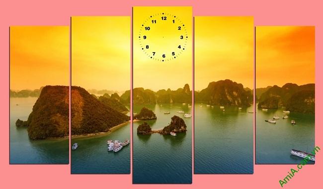 Hình ảnh Tranh phong cảnh Vịnh Hạ Long Amia 441