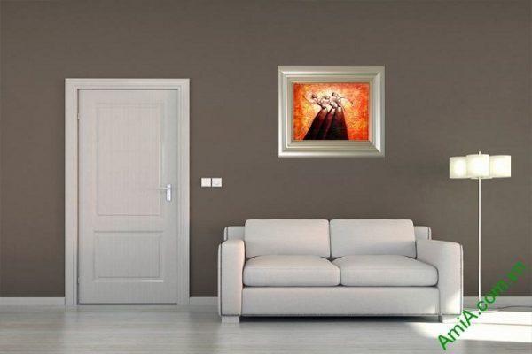 Tranh trang trí trừu tượng Vũ Điệu Bale Amia 446-01