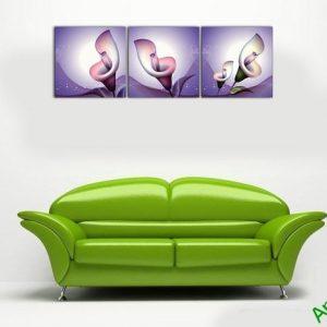 Tranh hoa Zum trang trí nghệ thuật cách điệu Amia 502-01