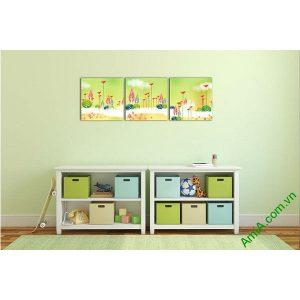 Tranh phong cảnh trang trí phòng khách, phòng trẻ em-00