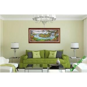 Tranh tiên cảnh trang trí phòng khách hiện đại Amia 542-00