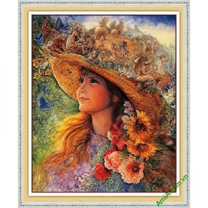 Tranh trang trí nghệ thuật fantasy hình cô gái Amia 574-00