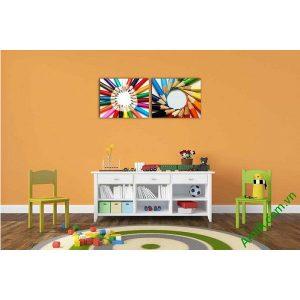 Tranh trang trí phòng của bé nghệ thuật xếp bút chì Amia 576-00