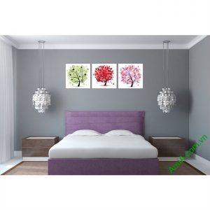 Tranh trang trí phòng khách, phòng ngủ Cây Tình Yêu Amia 458-00
