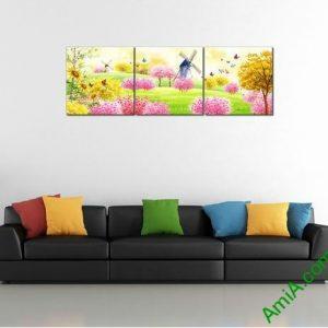 Tranh trang trí phòng khách, phòng trẻ em xứ sở thần tiên Amia 456-00