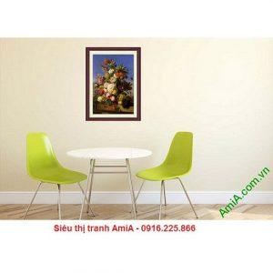 Hình ảnh tranh hoa quả trang trí phòng khách, phòng ăn