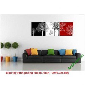 Hình ảnh Tranh trang trí nghệ thuật cây đời treo phòng khách độc đáo