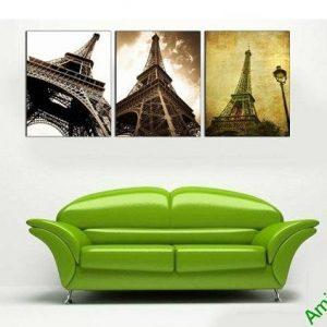 Tranh tháp Eiffel trang trí phòng khách hiện đại AmiA 696-00