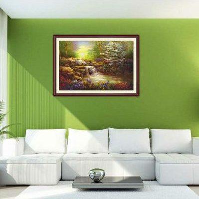 Tranh trang trí phong cảnh một tấm khổ nhỏ AmiA 648-00