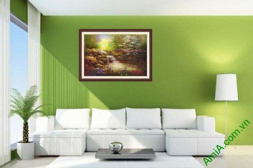 Tranh trang trí phong cảnh một tấm khổ nhỏ AmiA 648-01