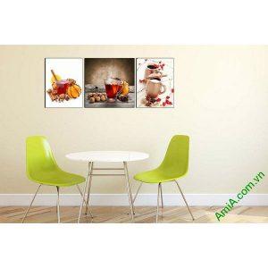 Tranh trang trí phòng khách, phòng trà đẹp AmiA 645-00