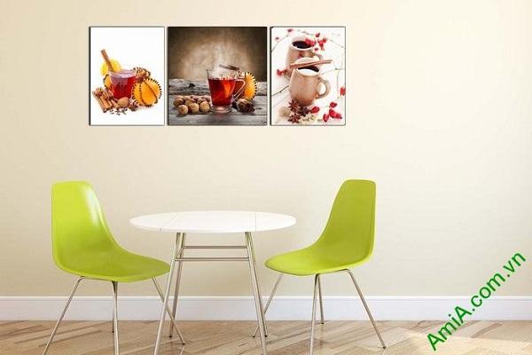 Tranh trang trí phòng khách, phòng trà đẹp AmiA 645-01