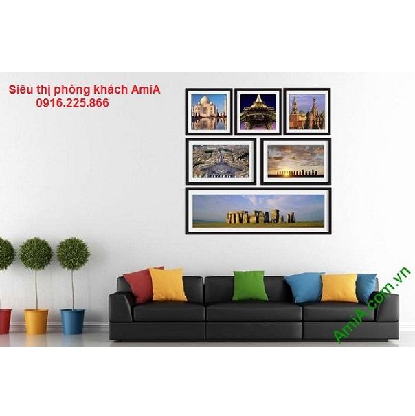 Hình ảnh thiết kế bộ khung tranh trang trí tường đẹp di sản thế giới