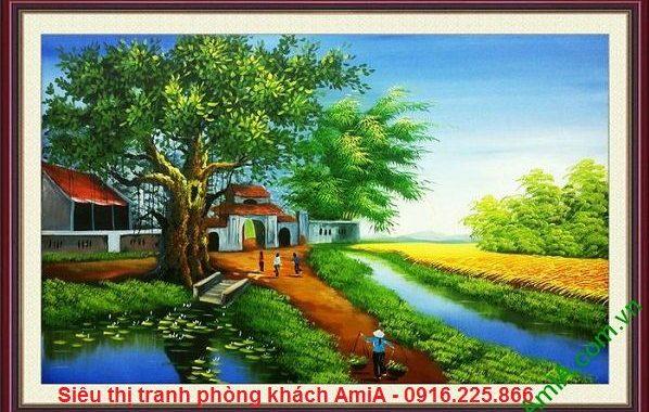 Hình ảnh phong cảnh làng quê Việt Nam đẹp nhất