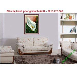Hình ảnh tranh hoa Zum trang trí nghệ thuật