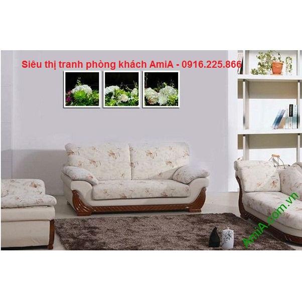 Hình ảnh mẫu tranh trang trí nội thất phòng khách hiện đại