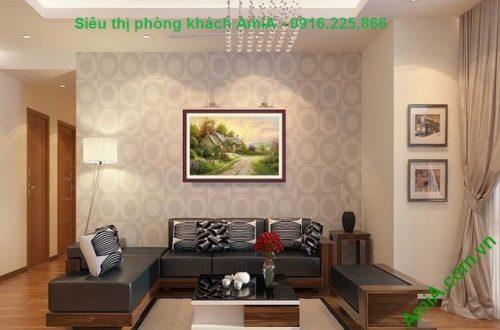 Hình ảnh Khung tranh nghệ thuật trang trí phòng khách