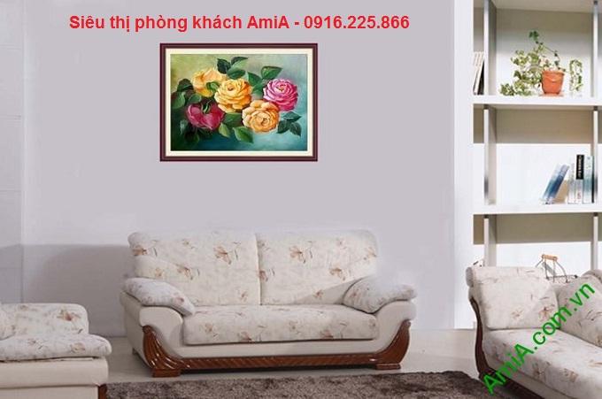Hình ảnh mẫu khung tranh treo phòng khách