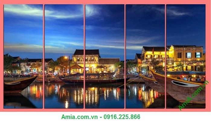 Hình ảnh phố cổ Hội An lung linh trong bộ ranh phong cảnh quê hương Việt Nam đẹp nhất