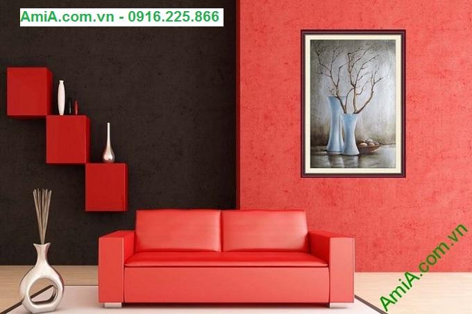 Hình ảnh Tranh trang trí nghệ thuật nguồn sống làm đẹp nội thất