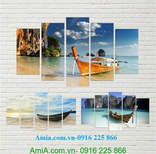 Hinh anh tranh phong cảnh bien prannag thai lan amia 961
