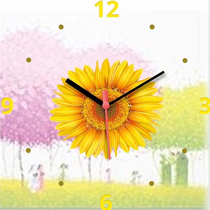 Hinh anh dong ho hoa huong duong dang tranh de ban amia dh22
