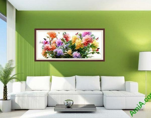 Mẫu tranh hoa mẫu đơn đẹp và ý nghĩa