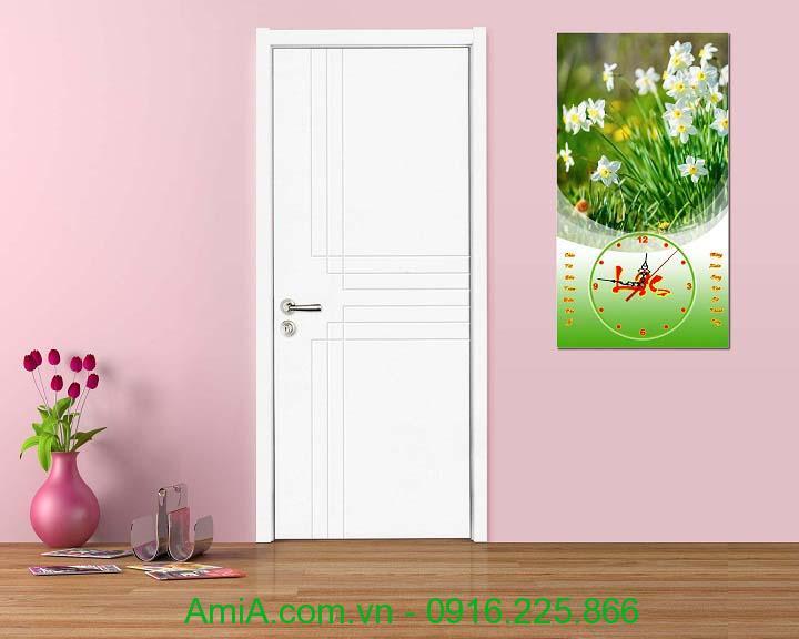 Hinh anh dong ho tranh hoa dang lich tet hoa thuy tien