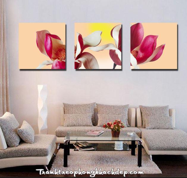 tranh treo tuong hoa gao cuoi dong
