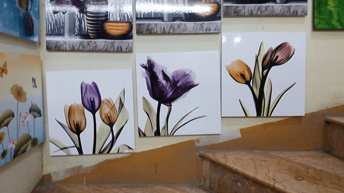Hinh anh tranh hoa xray treo thuc te tai cua hang ban tranh AmiA 1354