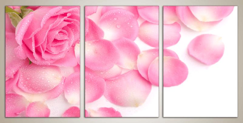 Hinh anh buc tranh hoa hong tinh yeu treo phong cuoi vo chong tham mai yeu thuong